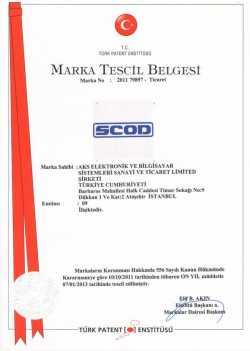 SCOD-MARKA-TESCİL-BELGESİ